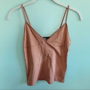 Nude Cropped Singlet
